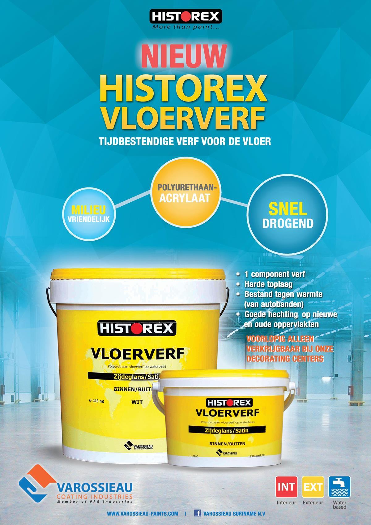 Historex vloerverf